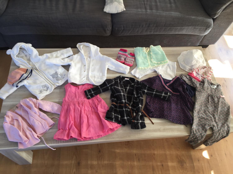 Babykleding Maat 68.Babykleding Maat 56 68 Meisje Krijgdekleertjes